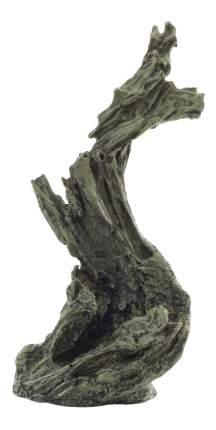 Грот для аквариума Laguna Изогнутая Коряга 257КС, полиэфирная смола, 20х14,5х38,8 см