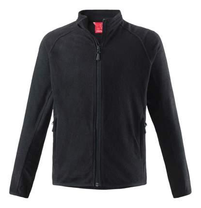 Куртка Reima флисовая для мальчика Riddle black 152 размер
