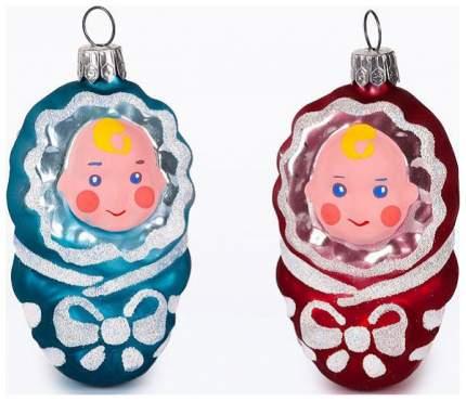 Набор елочных игрушек Елочка Малютки разноцветный C1155