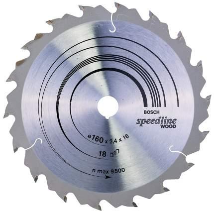 Пильный диск по дереву Bosch STD SWO 160x16-18T 2608640785