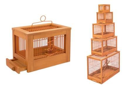 Клетка для птиц ZooM 56x30x35 8761клен