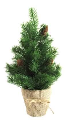 Ель искусственная Новогодняя сказка декоративная шишки зеленая 40.5 см