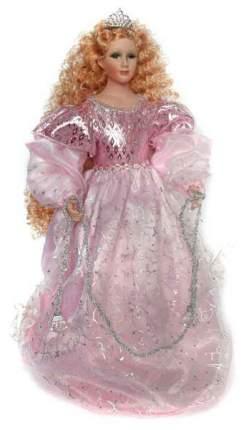 Игрушка под елку Winter Wings Снегурочка Фарфоровая в розовом платье 45 см