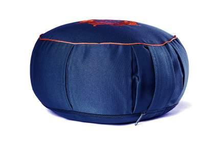 Подушка для йоги RamaYoga Ом, синий