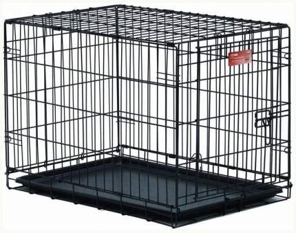 Клетка для собак Midwest iCrate, размер 6, 14.3 кг, размер 106х71х76см., черный