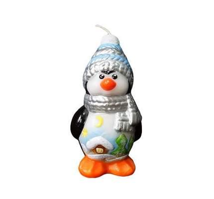 Свеча новогодняя Омский свечной завод 1499 Пингвин 8 см