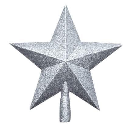 Kaemingk Верхушка Звезда 19 см серебряная 029541