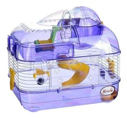 Клетка для хомяков KREDO M-02, в ассортименте, 33,5х25х28см