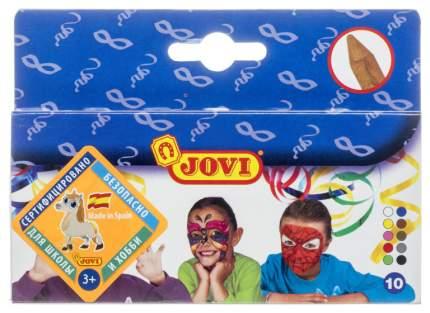 Краски для лица Jovi Грим-стик 10 цветов