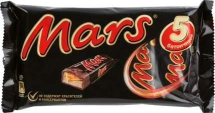 Шоколадный батончик Mars  202.5 г 5 штук