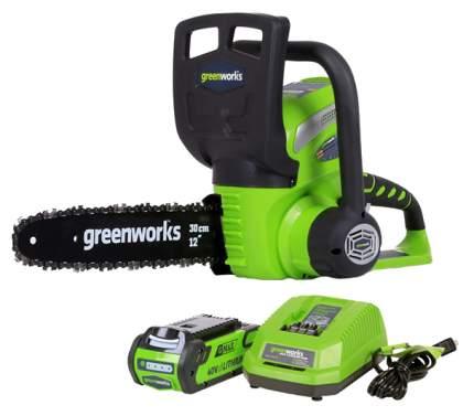 Аккумуляторная цепная пила Greenworks G40CS30-SET-1 20117a
