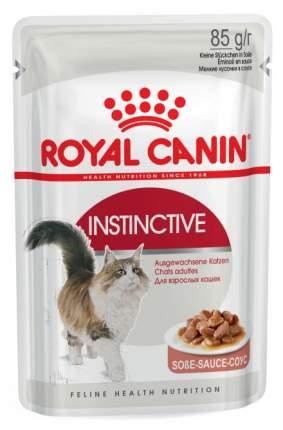 Влажный корм для кошек ROYAL CANIN Instinctive +7, мясо, 85г