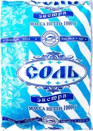 Соль поваренная пищевая Полесье экстра 1 кг