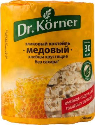 Хлебцы хрустящие Dr.Kоrner злаковый коктейль медовый 100 г