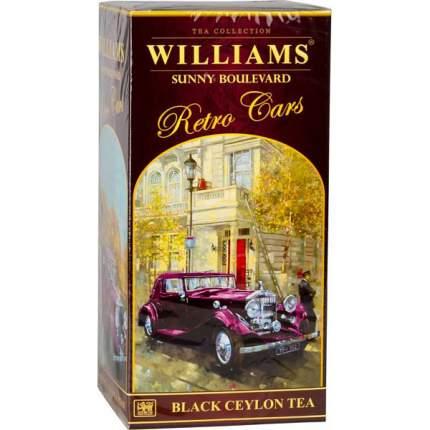 Чай черный Williams коллекция retro cars sunny boulevard 250 г