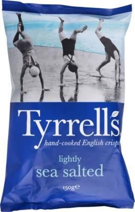 Картофельные чипсы Tyrrells с морской солью слабосоленые 150 г