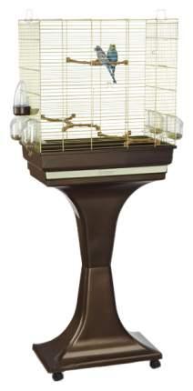 Клетка для птиц Imac Camilla на подставке, латунь