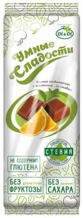 Шоколад молочный Умные сладости с апельсином 90 г