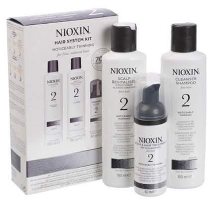 Подарочный набор Nioxin System 2 150мл+150мл+40мл