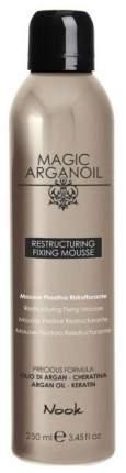 Мусс для волос Nook Magic Arganoil Restructuring Fixing Mousse 250 мл