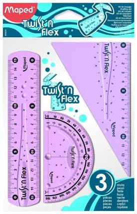Набор гибких чертежных принадлежностей Maped Twist n Flex