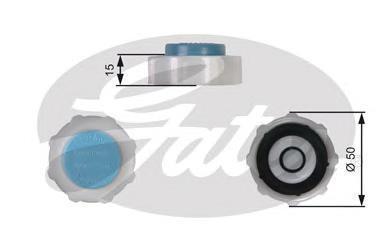 Крышка системы охлаждения Gates RC221
