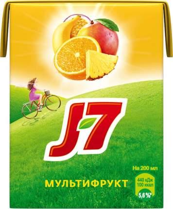 Нектар J7 мультифрукт 0.2 л