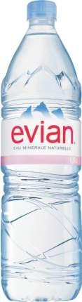 Вода минеральная Evian негазированная пластик 1.5 л