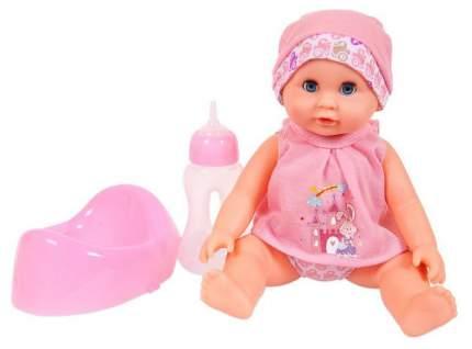 Кукла пьет и писает в наборе с аксессуарами, 25 см