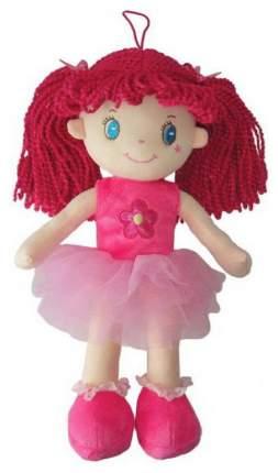 Кукла Creation Manufactory с розовыми волосами в розовой пачке мягконабивная, 20 см