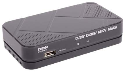 DVB-T2 приставка BBK SMP023HDT2  Dark Grey