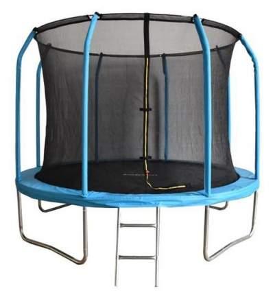 Батут Bondy Sport BS12FTBL с сеткой и лестницей 366 см, blue