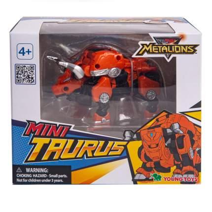 Игровой набор Metalions Таурус Мини трансформер 314038