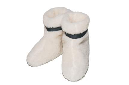 Домашние тапочки женские Smart-Textile Овечки белые 38-39 RU