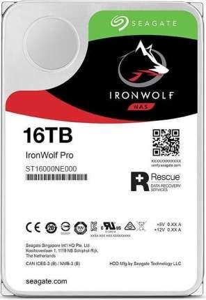 Внутренний жесткий диск Seagate Ironwolf Pro HDD 16Tb (ST16000NE000)