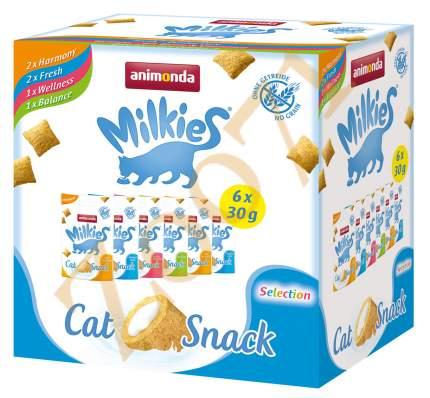 Лакомство для кошек Animonda Milkies Selection, 6 штук по 30 г