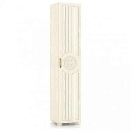 Платяной шкаф Компасс-мебель Монблан МБ-3 KOM_MB3_1 40x35x200, береза снежная