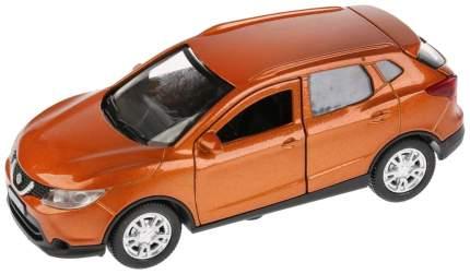 """Машина металлическая """"Nissan Qashqai"""" 12см открыв двери инерц золотой QASHQAI-GD Технопарк"""