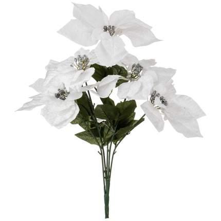 Искусственное растение Lefard Букет Пуансетий (44 см)