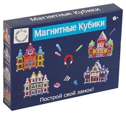 """Конструктор магнитный """"Магнитные кубики"""" (78 деталей)"""