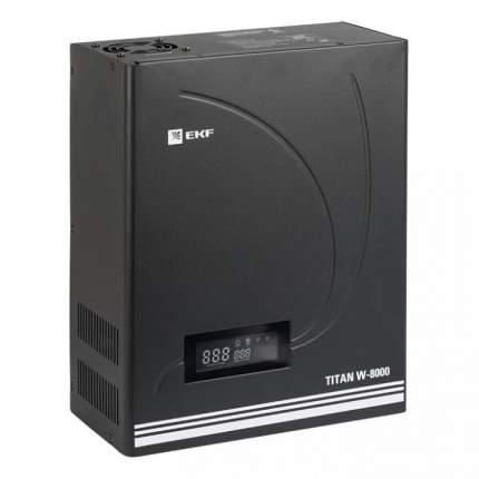 Однофазный стабилизатор EKF TITAN W-8000 EKF PROxima