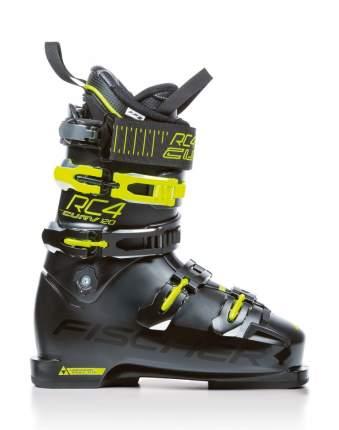 Горнолыжные ботинки Fischer RC4 Curv 120 Vacuum Full Fit 2019, black/yellow, 27.5