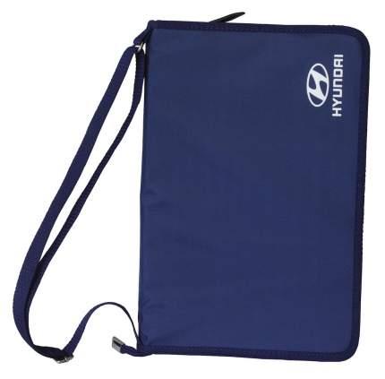 Папка для документов на молнии Hyundai R8480AC009H Blue