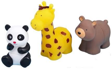 """Игрушки-пазлы для ванны """"Зоопарк"""", 3 шт.  Крошка Я"""