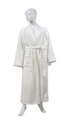 Банный халат TAC Bettie белый xL