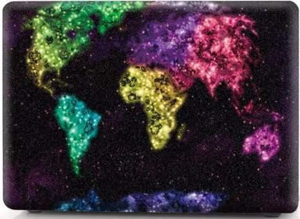 Накладка i-Blason Cover для MacBook Pro 15 Retina (Creative World Map)
