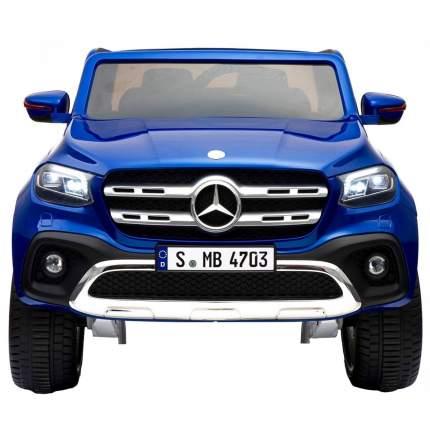 Двухместный электромобиль Barty Mercedes-Benz X-Class (Лицензия), Синий