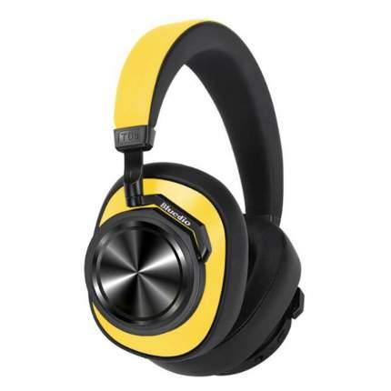 Наушники Bluedio T6S Yellow 4105.3