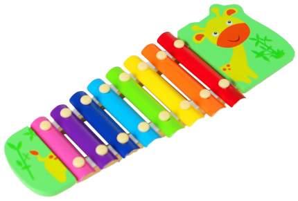 """Музыкальная игрушка """"Металлофон. Жирафик"""", 8 тонов Sima-Land"""
