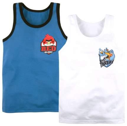 "Набор маек Bossa Nova  ""Angry Birds"", 2 штуки, размер 32, рост 110-116 см"